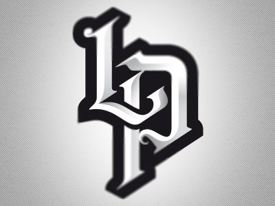Lp monogram final logos sports logo and typo logo julio marques sport designsports logoslogo thecheapjerseys Image collections