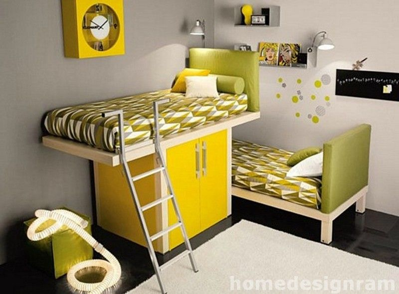 Decor L Shaped Bunk Beds For Low Ceilings 2015 Modern Kids