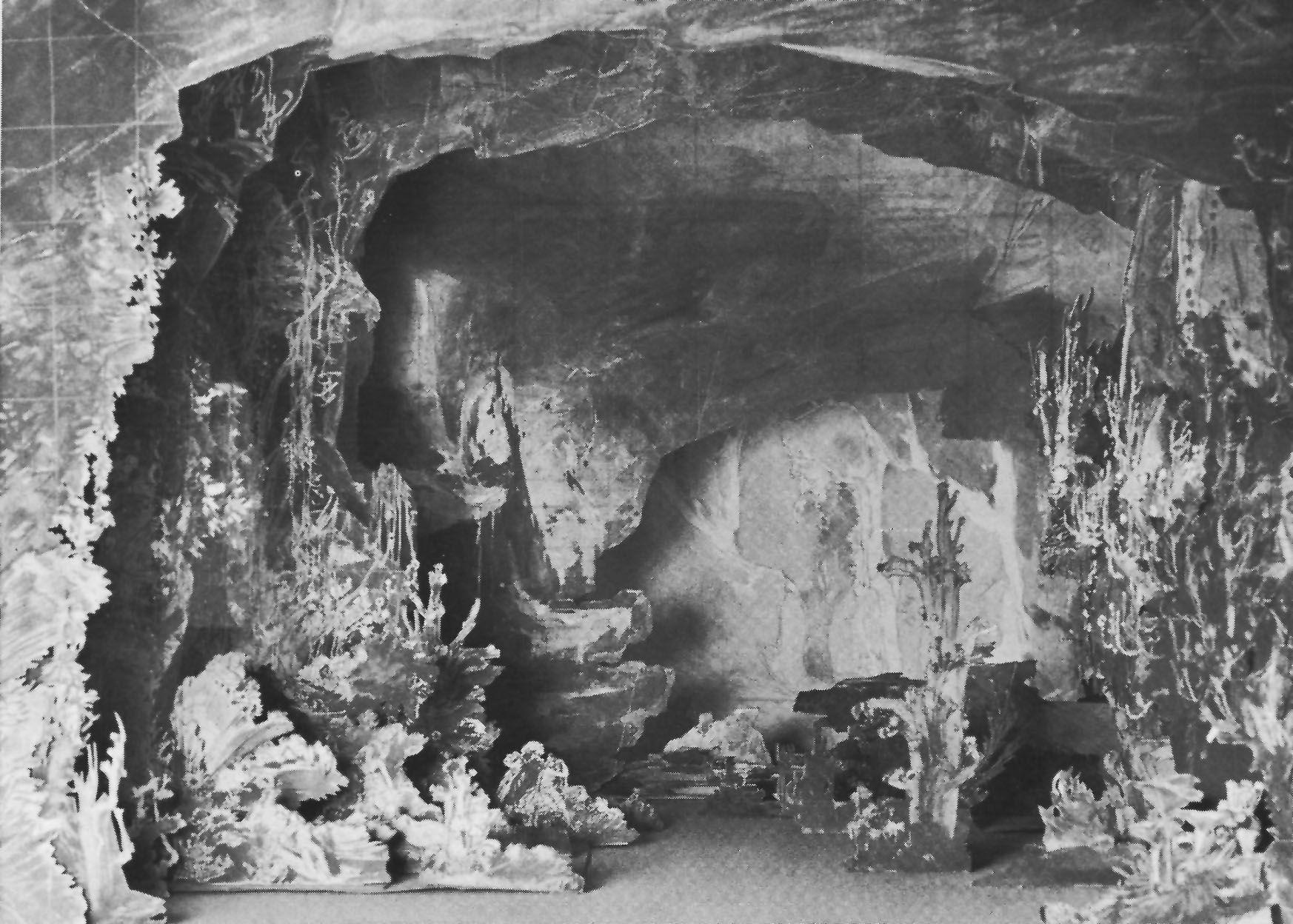 """"""" Tannhäuser """" 1,Aufzug 1.Bild 1891Modell Max Brückner"""