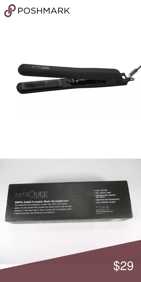 Marquee Professional Ceramic Flat Iron 1 1 4 Nwt With Images Ceramic Flat Iron Fashion Flats Flat Iron