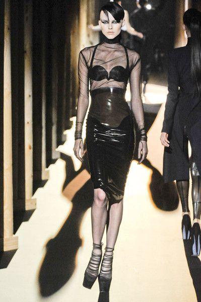 Thierry Mugler at Paris Fashion Week Fall 2011