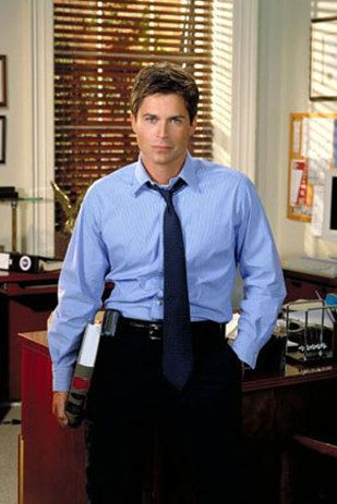 """And Sam Seaborn was based on George Stephanopoulos. 