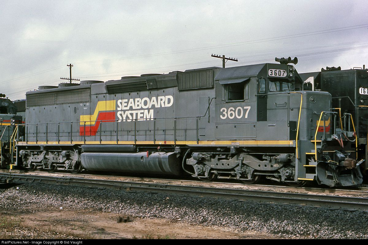 Railpictures net photo sbd 3607 seaboard system emd sd45 for Railpictures
