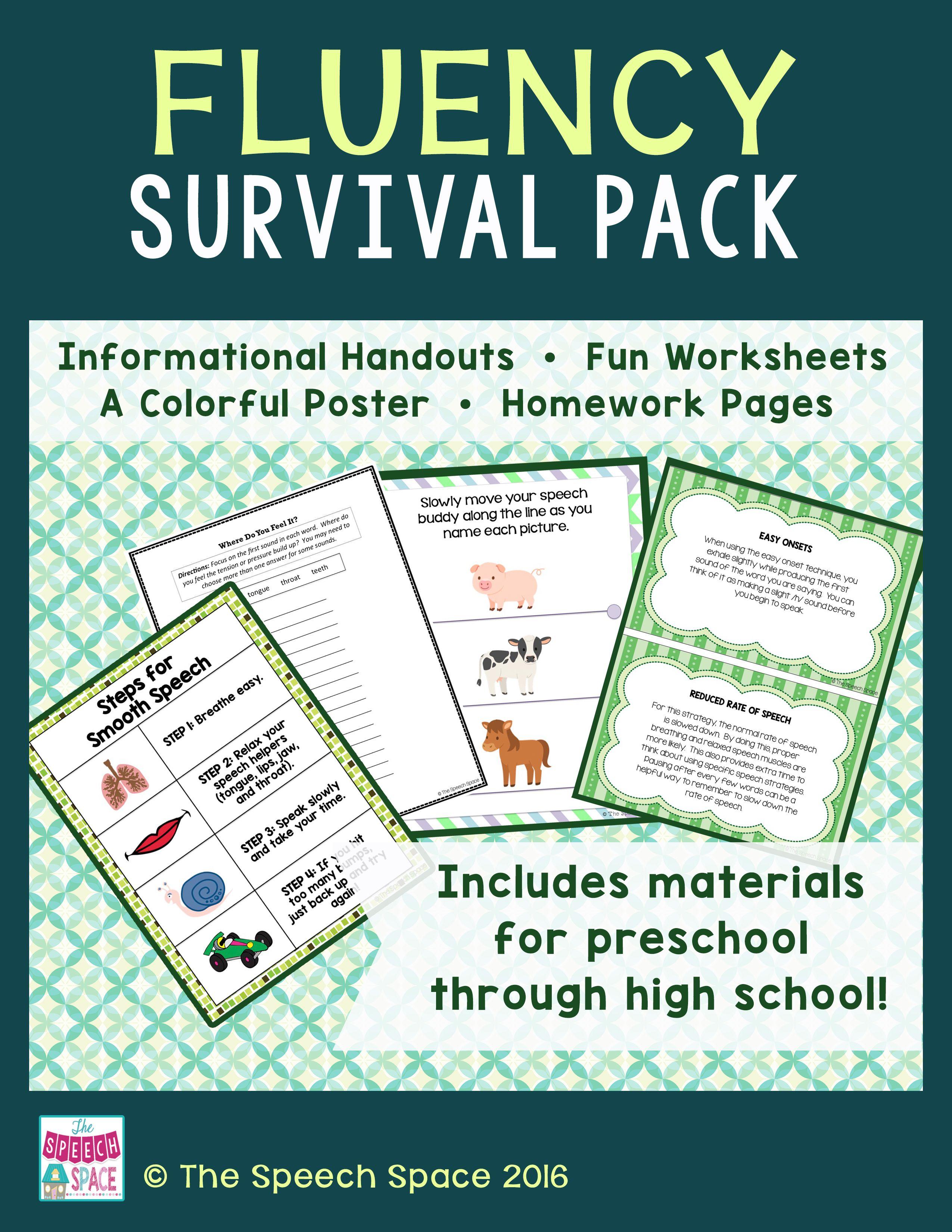 Fluency Survival Pack