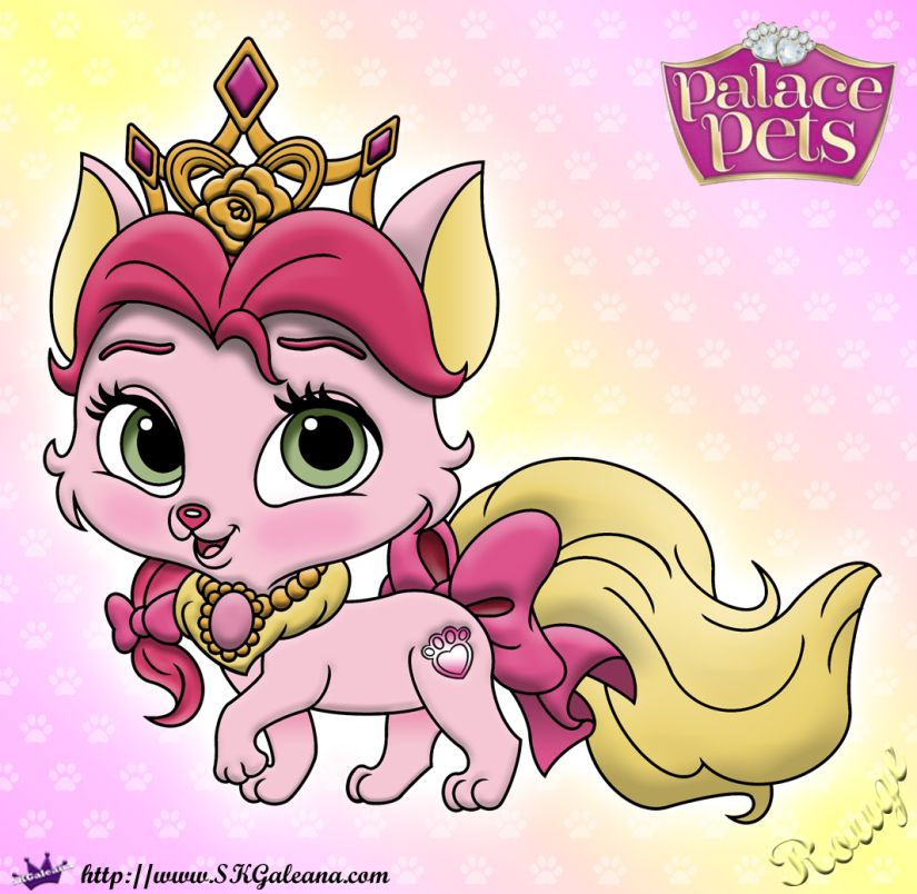 Free Princess Palace Pets Rouge Coloring Page Princess