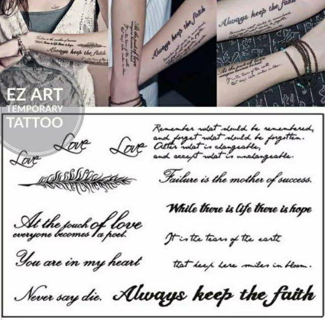 Terkeren 26 Tato Tulisan Di Dada Koleksi Tulisan Tato Temporer Fashion Temporary Tattoo Sementara Hasil Mirip Asli Tato Di D Di 2020 Tato Tato Untuk Pria Tato Bagus
