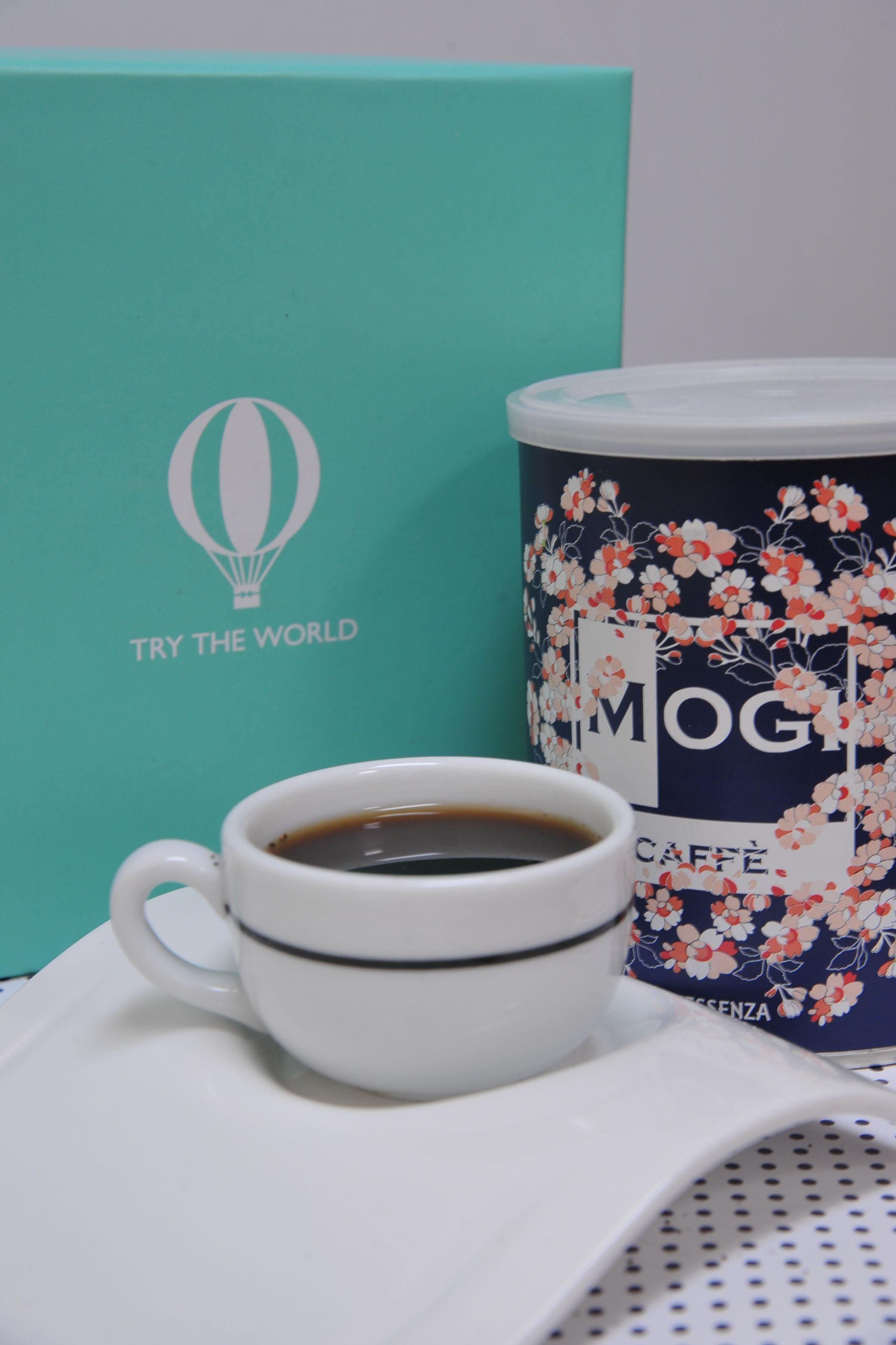 Enjoy a cup of Mogi Caffé coffee found in our Venice box