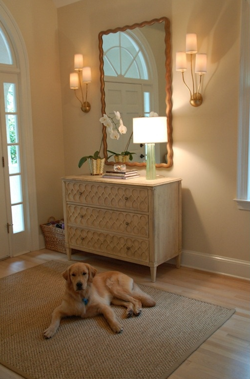 Foyer Mirror Jewelry : Things that inspire beautiful foyer with tan paint color
