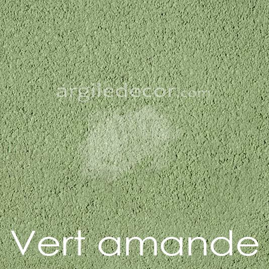 Enduit à l'argile, couleur: Vert amande   Couleurs enduit à l