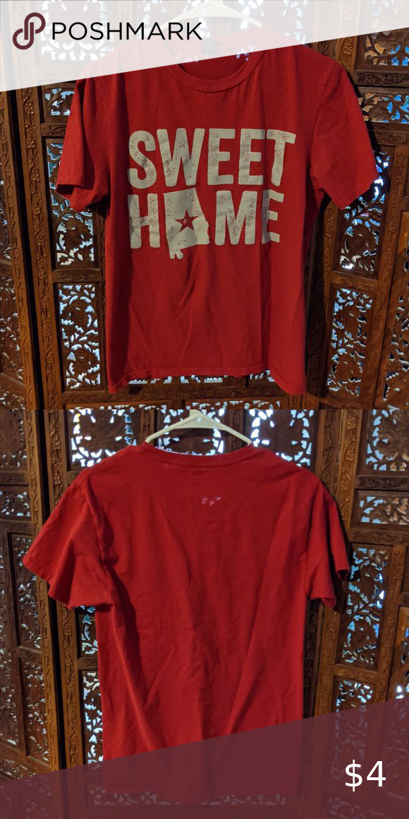 Anvil Sweet Home Alabama Top Size Small