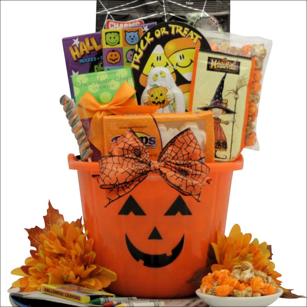 Spooky Sweets & Treats: Halloween Gift Basket for Kids ~ Ages 3 to ...