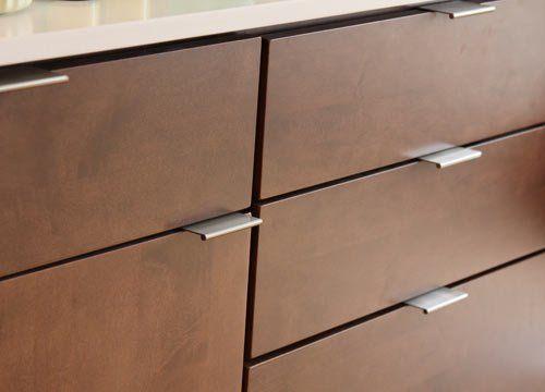 Bravo Aluminum Cabinet Pulls By Berenson Modern Kitchen Handles