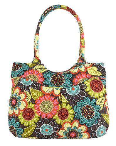 5beebf9e01 Vera Bradley Pleated Shoulder Bag Flower Shower -  http   handbagscouture.net brands vera-bradley vera-bradley -pleated-shoulder-bag-flower-shower  ...