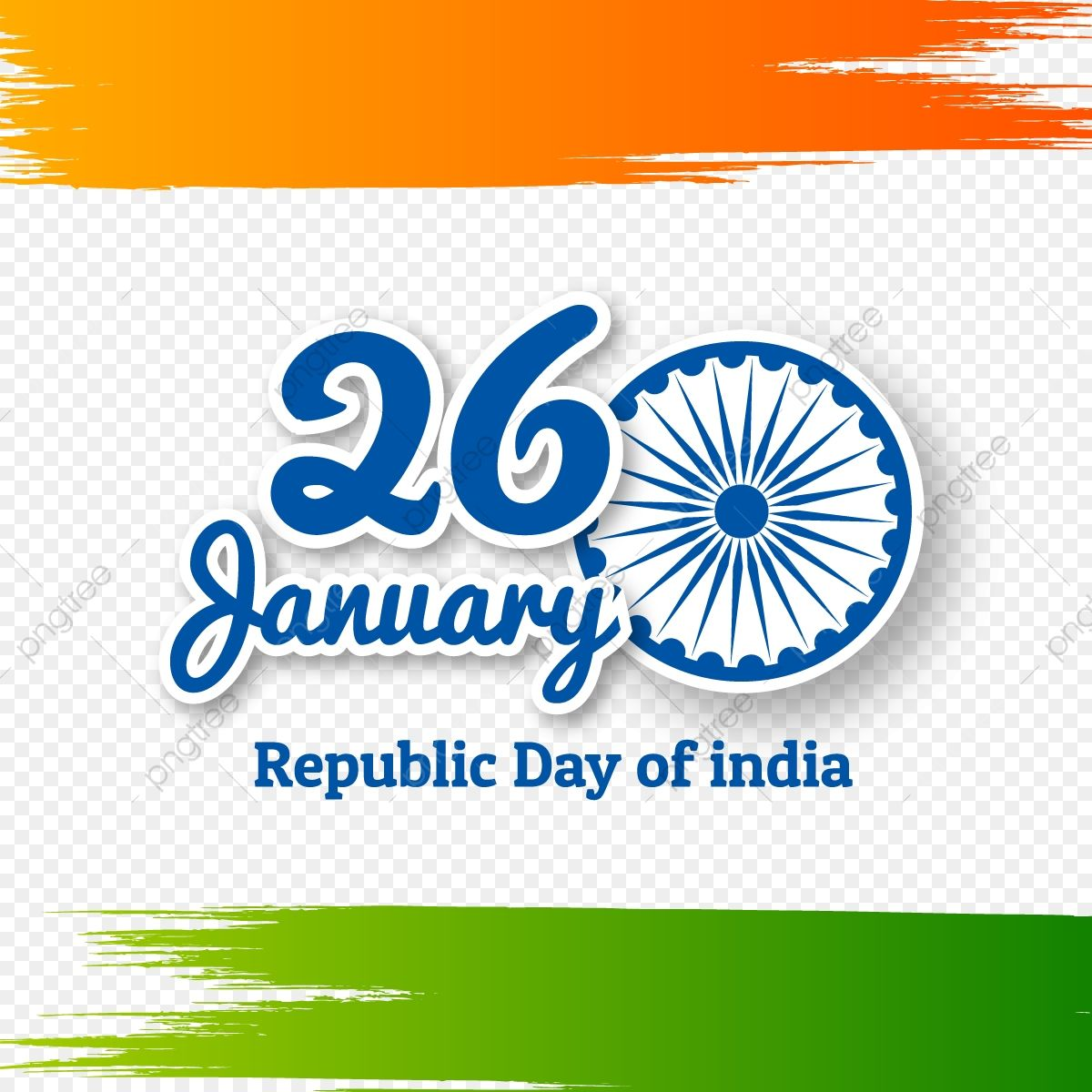 Indian Republic Day Concept With Text 26 January Republic Day India Republic Png And Vector With Transparent Background For Free Download In 2021 Republic Day India Republic Day Images Indian Flag Wallpaper