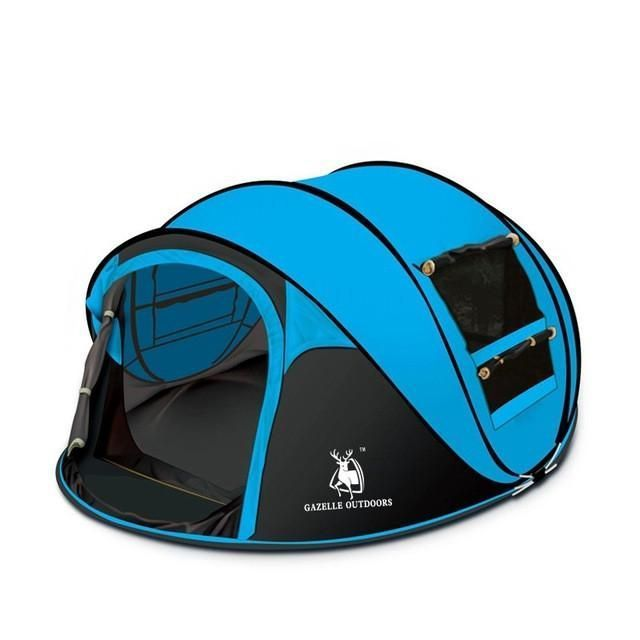 throw tent outdoor 3-4persons automatic tents speed open throwing pop up windproof waterproof c&ing tent large family tents | Pop-Up Tents | Pinterest ...  sc 1 st  Pinterest & throw tent outdoor 3-4persons automatic tents speed open throwing ...