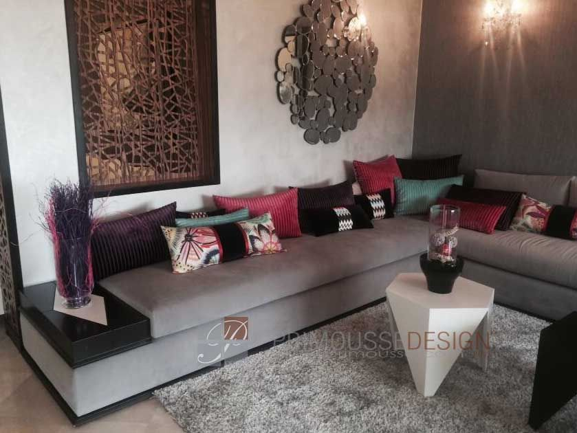 salon marocain - | décoration | Pinterest | Salons marocains, Salon ...