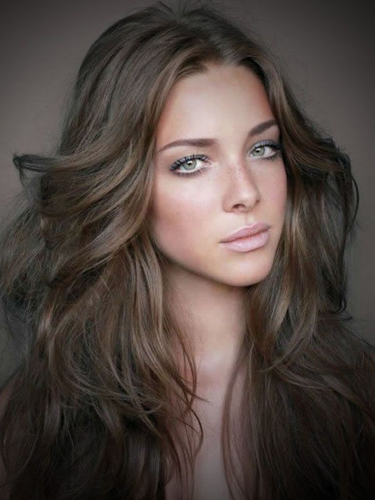 Ash brown hair color with brown highlights ash brown hair color