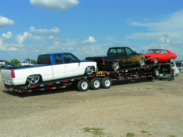 Pin By Cade F On Hot Shot With Images Car Hauler Trailer
