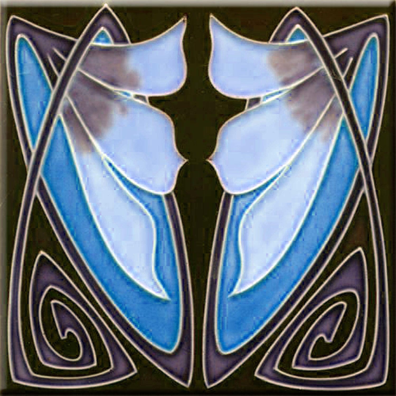Art nouveau decorative ceramic tile 6 x 6 inches 174 by imagesdesign art nouveau decorative ceramic tile 6 x 6 inches 174 by imagesdesign on etsy https dailygadgetfo Choice Image