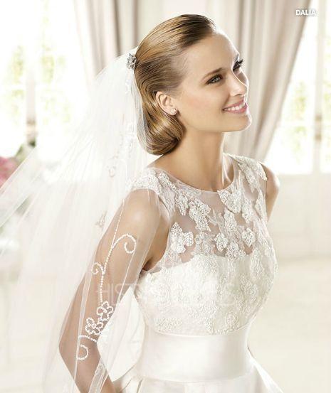 modelo dalia. vestidos de novia 2013 pronovias. coleccion costura