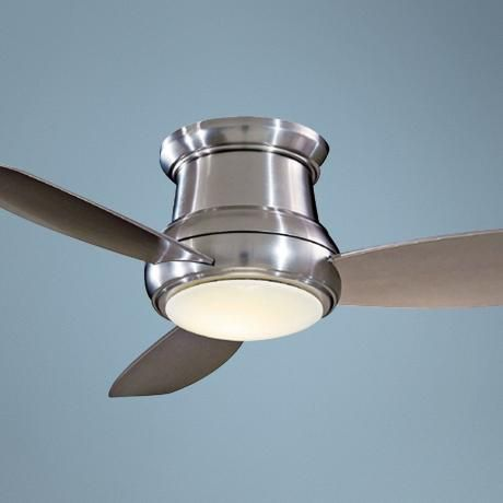 52 minka aire concept ii brushed nickel hugger ceiling fan not my 52 minka aire concept ii brushed nickel hugger ceiling fan not my favorite thing aloadofball Choice Image