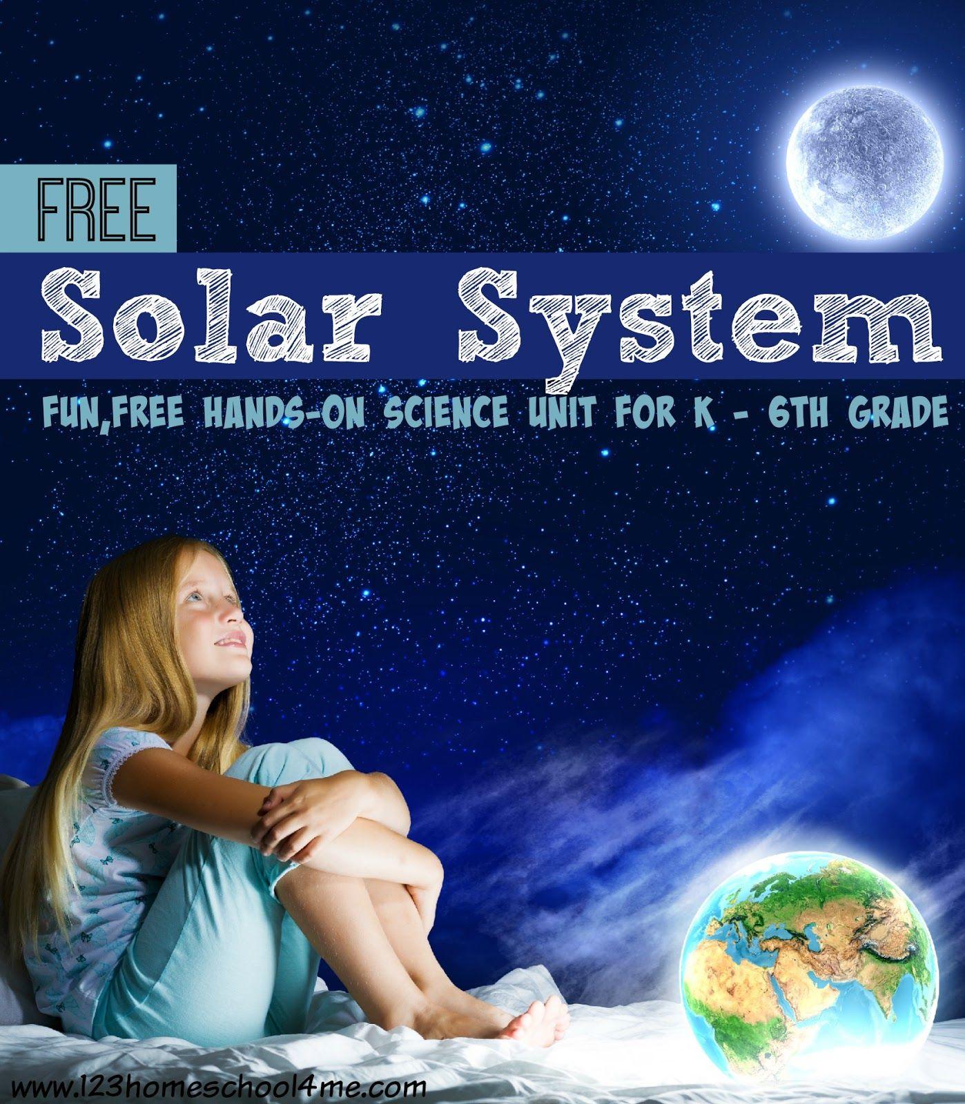 Free Solar System Worksheets