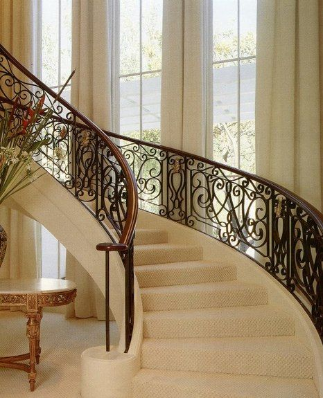 Modelos de barandas para escaleras de hierro forjado   buscar con ...