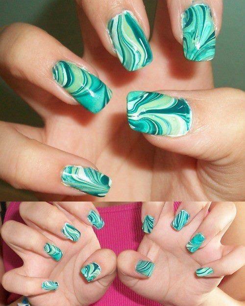 Turquoise | Nail art | Pinterest | Turquoise