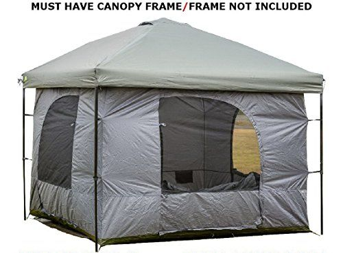 Standing Room 144 Family Cabin C&ing Tent XXL With 85 feet of Head Room 4 Big Screen Doors Fast Easy Set Up Cabin Tent Family Tent Large Tent Canopy Frame ...  sc 1 st  Pinterest & Standing Room 144 Family Cabin Camping Tent (XXL 12x12) With 8.5 ...