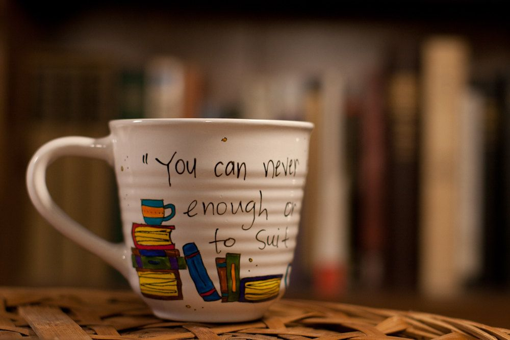 C S Lewis You Can Never Get A Cup Of Tea Large Enough Literary