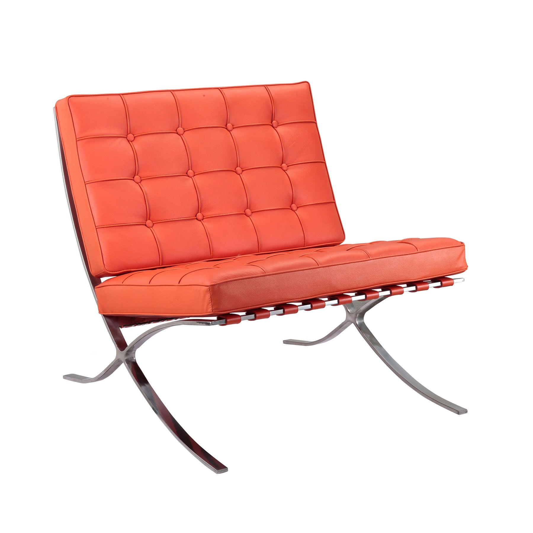 Catalan Chair In Orange Dotandbo Com Urban Mid Century  # Muebles Catalan