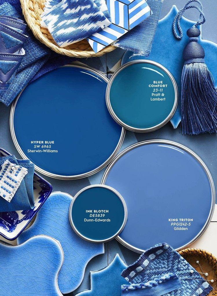Color Report Mediterranean Blues Better Homes Gardens Paint Colors For Home Mediterranean Blue Paint House Colors