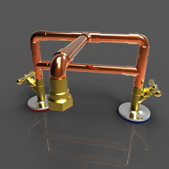 Copper Bathroom Faucet Bronze