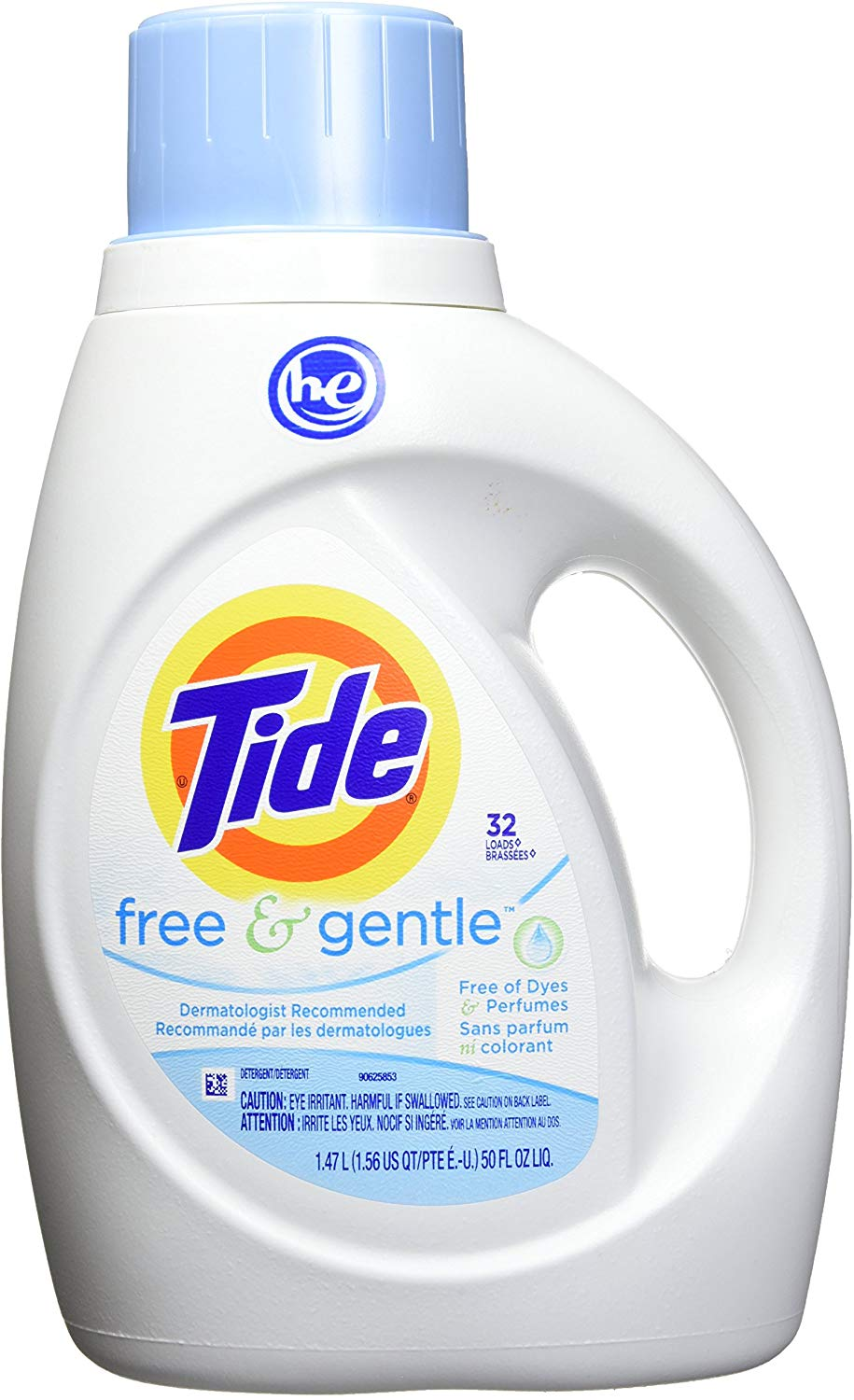 Amazon Com Tide Free Gentle He Turbo Liquid Laundry Detergent Pack Of 2 Unscented 1 Laundry Detergent Liquid Laundry Detergent Homemade Laundry Detergent