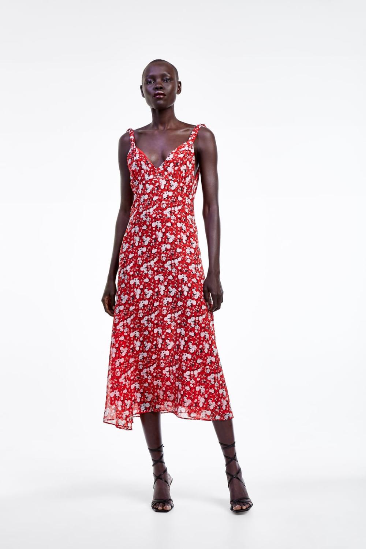 kleid mit blumenmuster - alles anzeigen-kleider-damen | zara