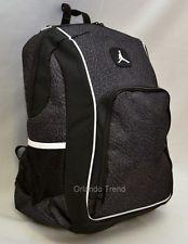 New Nike Air Jordan 15 Laptop Backpack Jumpman Black School Book Bag Mens Boys Orlandotrend