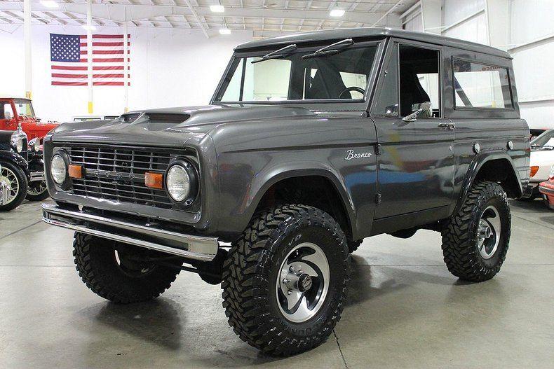 28 900 1969 Ford Bronco Camionetas Camionetas Ford Autos