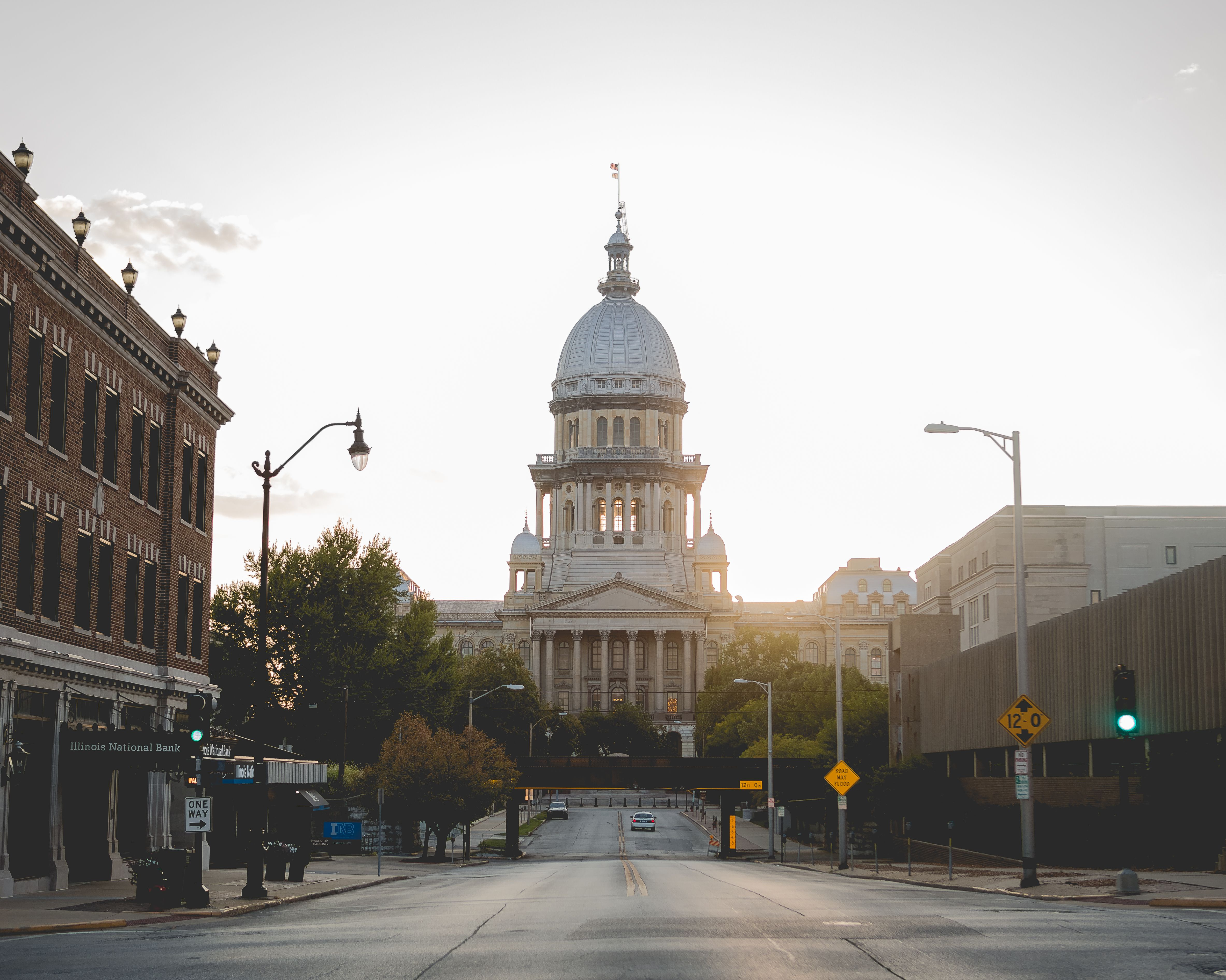 Illinois State Capitol Building Downtown Springfield IL