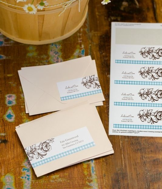 Printing Your Own Wedding Invitations: Design And Print Your Own Beautiful Address Labels For