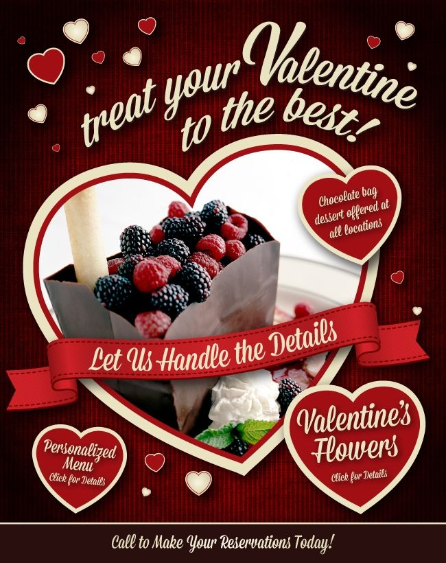 valentines' day! desert and costume menu options. mccormick, Ideas