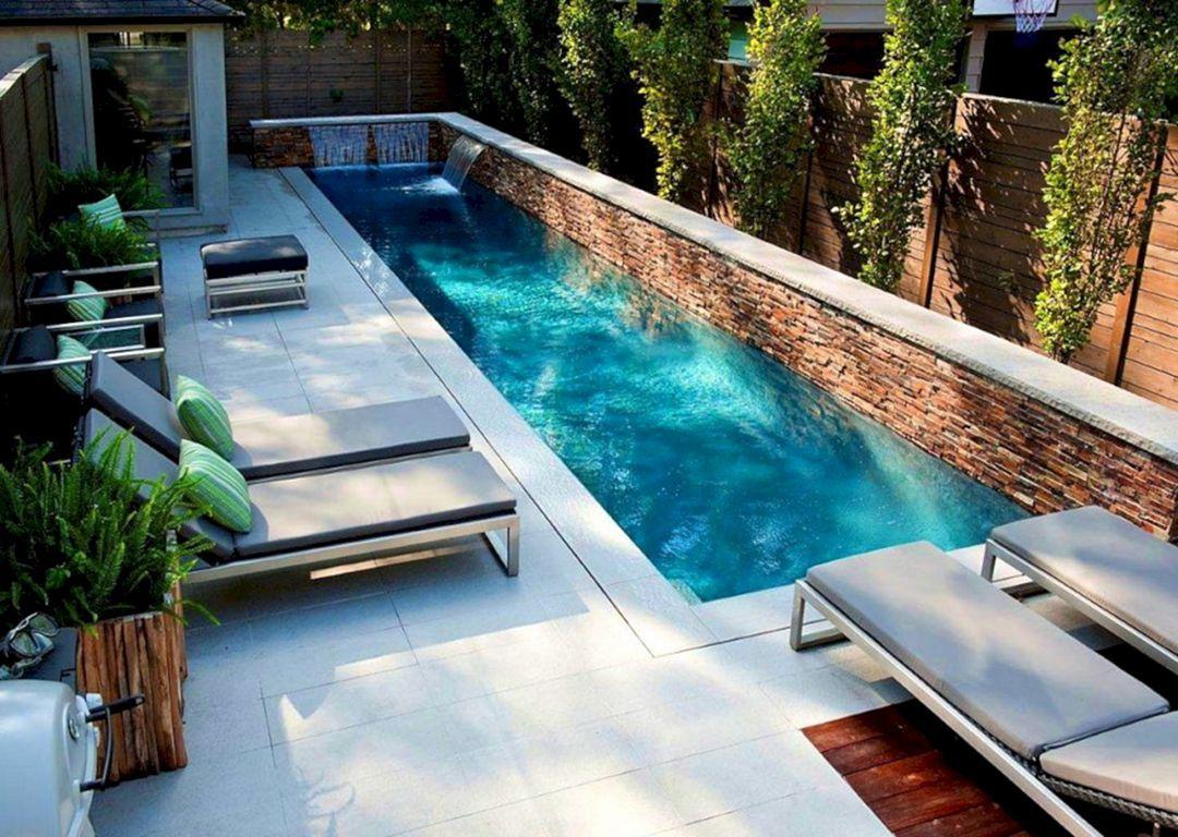 10 Cozy Small Backyard With Minimalist Swimming Pool Design Ideas