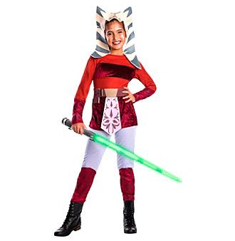 Disney® Star Wars™ Clone Wars Ahsoka Deluxe Child Costume  sc 1 st  Pinterest & Disney® Star Wars™ Clone Wars: Ahsoka Deluxe Child Costume | Disney ...