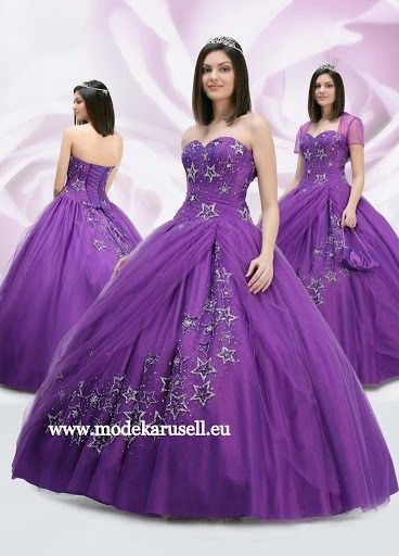 Ballkleid Tanja Brautkleid Abendkleid in Lila Violett | Damenmode ...