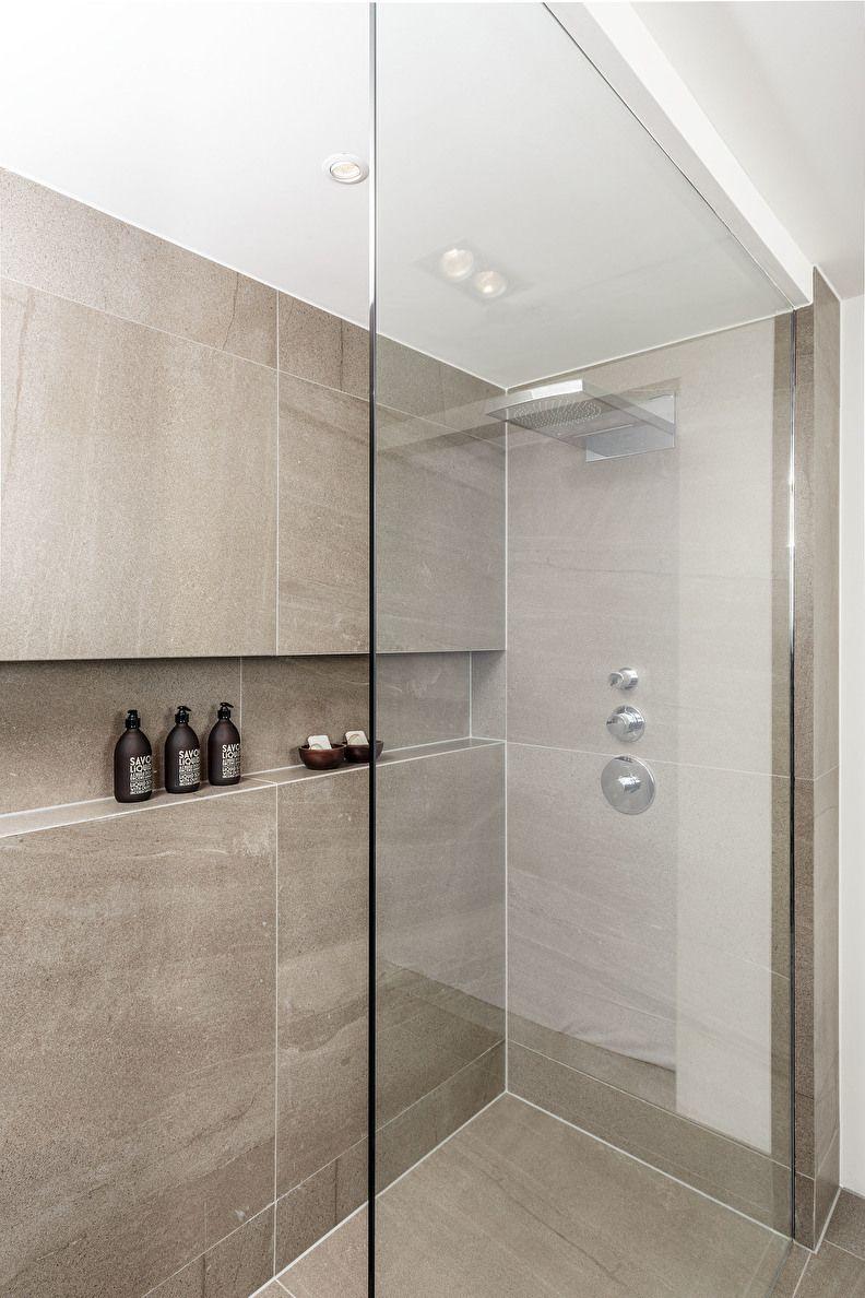 inloopdouche, douchedeur, douchewand | Landelijke badkamers ...
