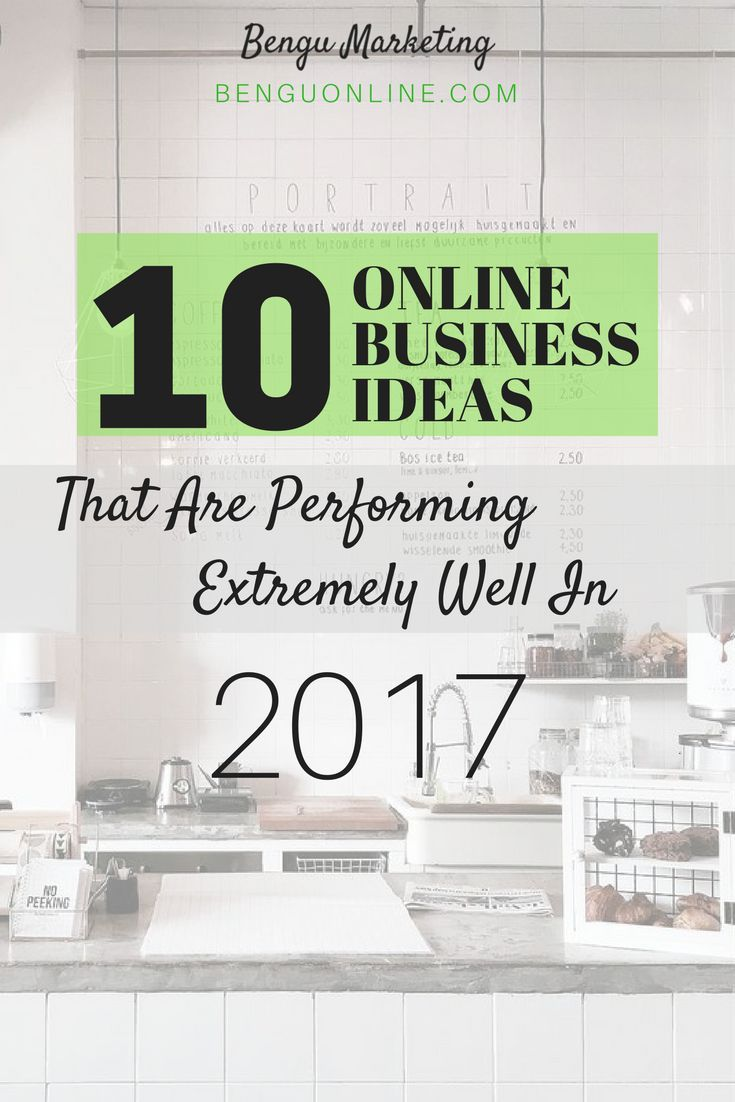 Online Business Ideas: The 2017 Definitive List | Online business ...