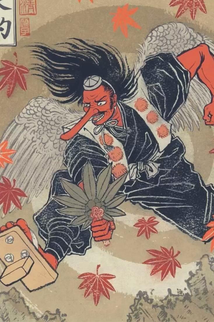 Tengu : Mythologie Japonaise et Légende