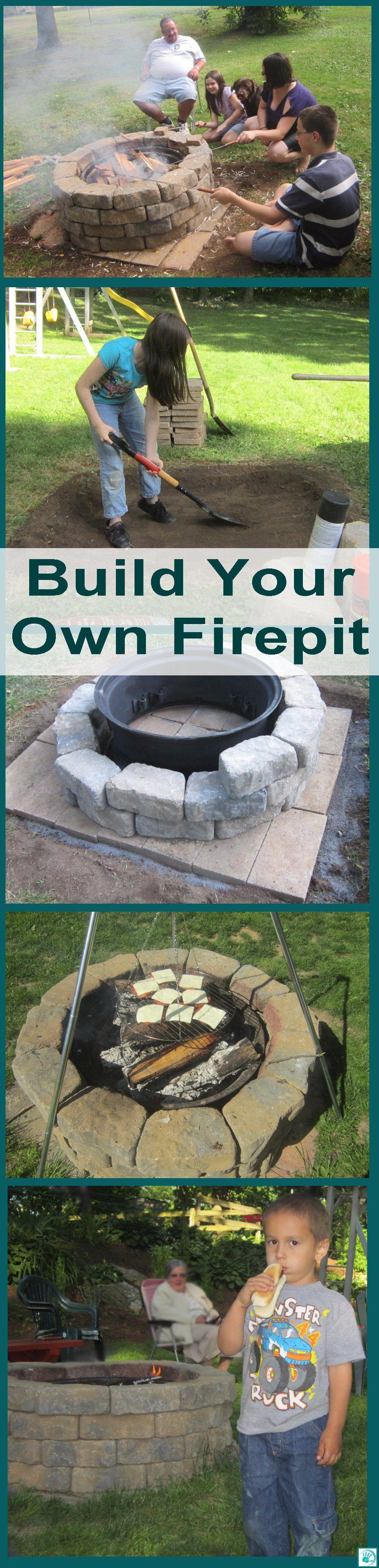 Pinterest Dienstag. . . DIY FIRE-PIT