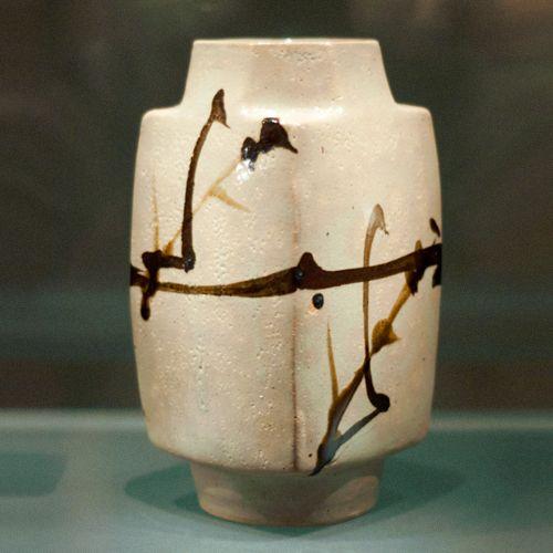 Stunning Shoji Hamada vase.