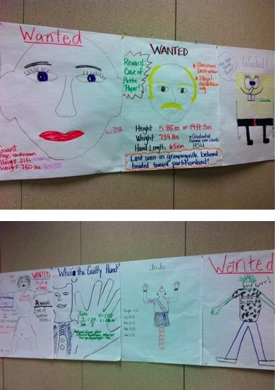 Giant Wanted. Math Lesson on proportions and ratios. Create wanted ...