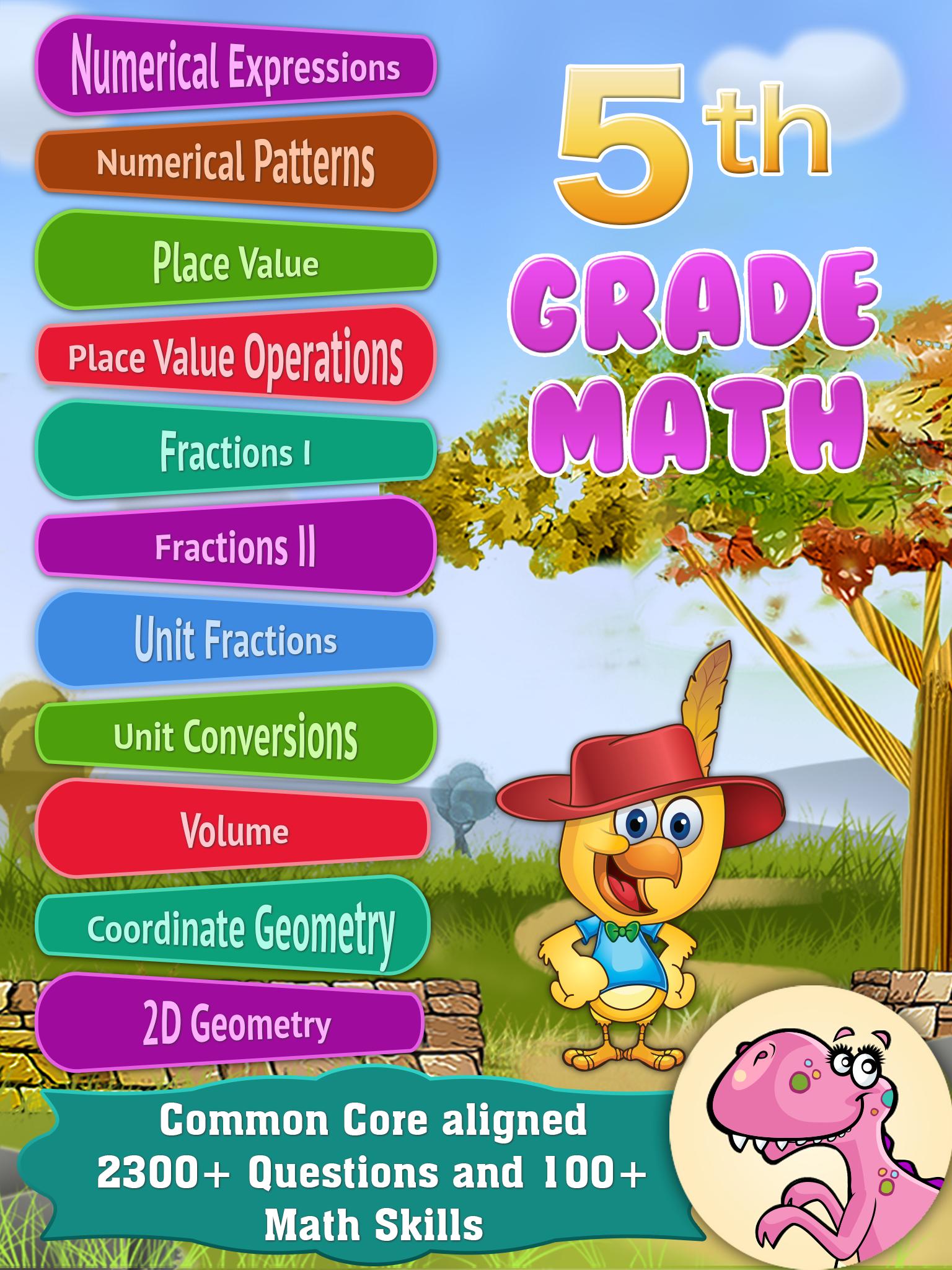 Math app for 5th Grade kids. Best math apps, Educational